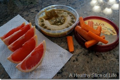 trouble with calorie counting- sabra hummus