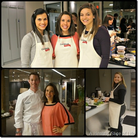 Chobani Charlotte- chef and friends
