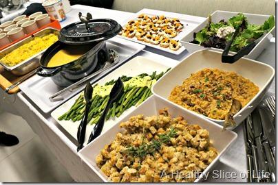 Chobani Charlotte- dinner spread