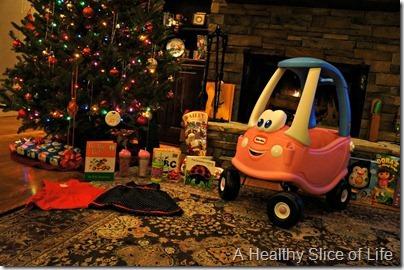 Christmas- Santa came