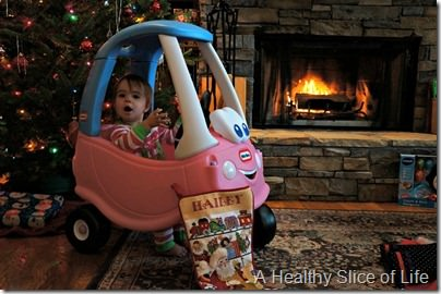 Christmas- princess cozy coupe