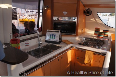annapolis boat show 3012- fountain pijot 39 galley