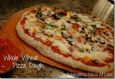 delicious whole wheat pizza dough