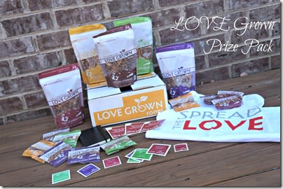 holiday giveaway- LOVE grown prize pack