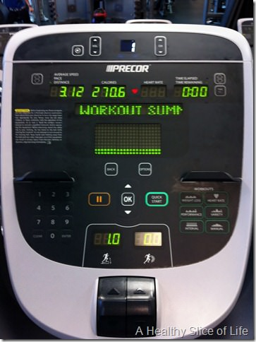 just do it- treadmill run