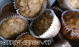 Toddler-Approved Banana Mini Muffins