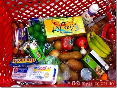 weekender- target cart