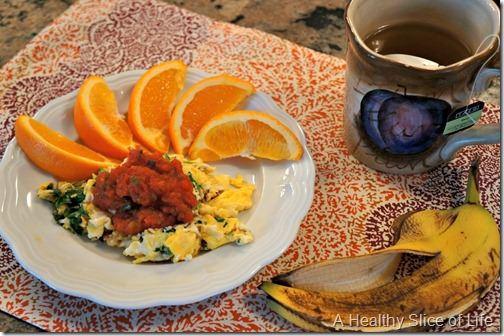 a wonderful day- breakfast
