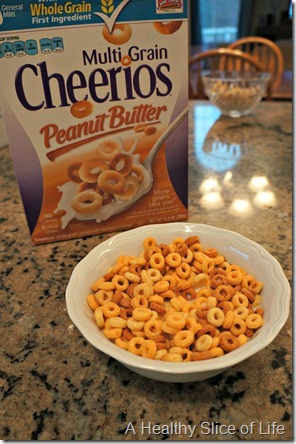 eats on new years day- peanut butter cheerios