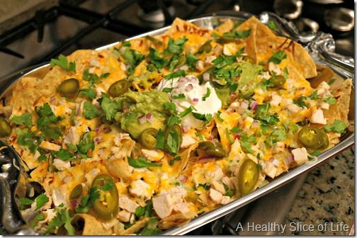 homemade loaded nachos