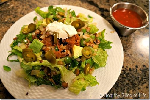 leftover mexican salad