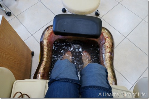 mom's day out- pedicure