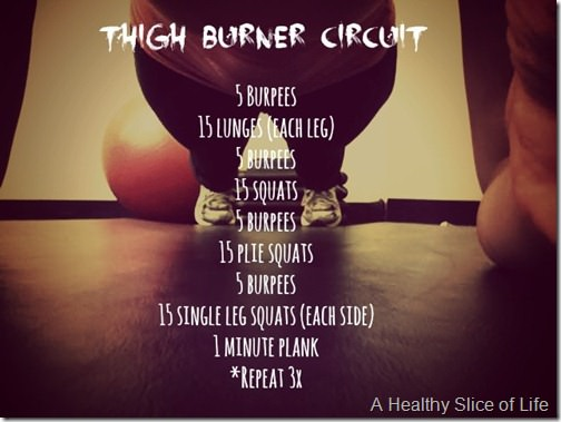 thigh burner