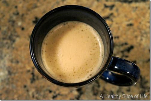 whole30 not for me- coffee with cream