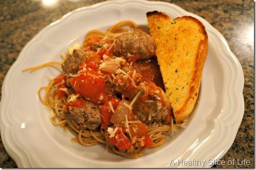 whole30 not for me- spaghetti