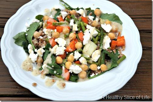 whole30 not for me- veggie grain bowl
