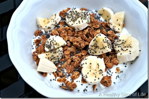 whole30 not for me- yogurt bowl