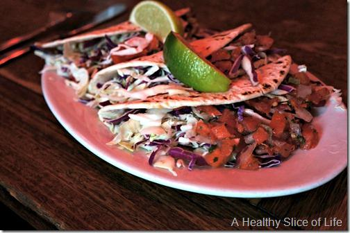 Charleston- Sullivan's Island- Poe's fish tacos