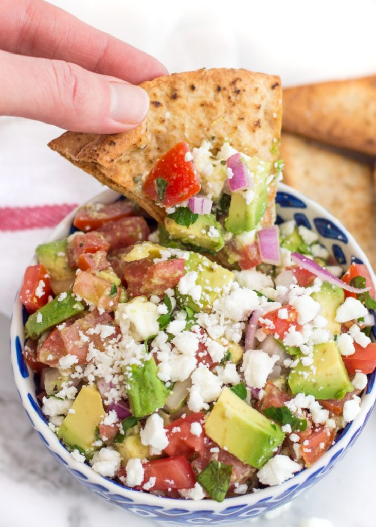 Avocado and Feta Salsa