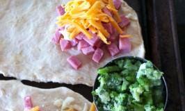 Ham & Broccoli Calzones (for kids!)