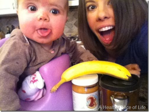go together- peanut butter and banana