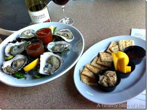 lake oconee ritz- oysters