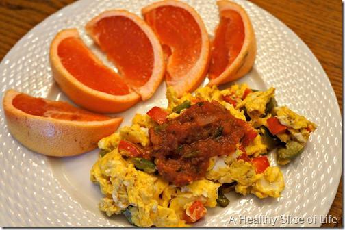 wiaw- breakfast egg scramble