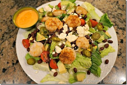wiaw- dinner salad