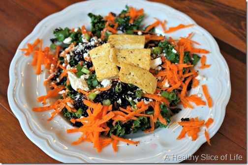 wiaw- sauteed kale salad