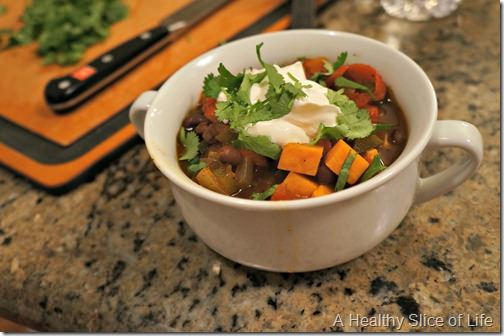wiaw- sweet potato chili