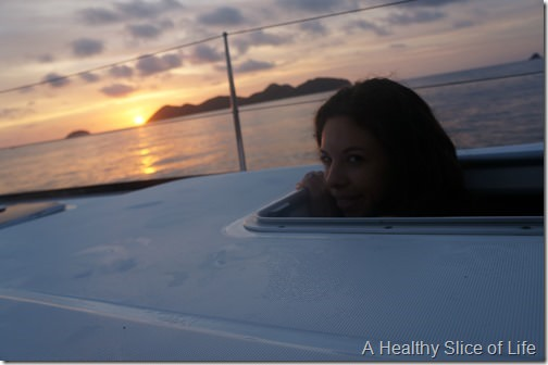 BVI sailing- morning
