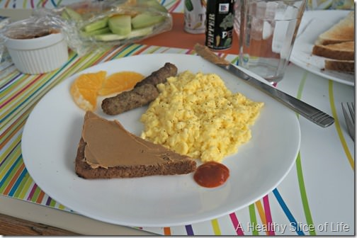 Festiva- BVI Sailing- breakfast