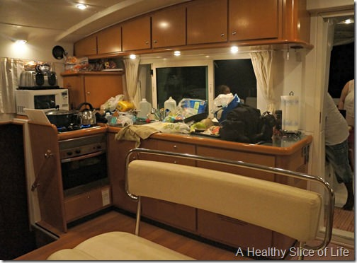 Festiva- BVI Sailing- galley