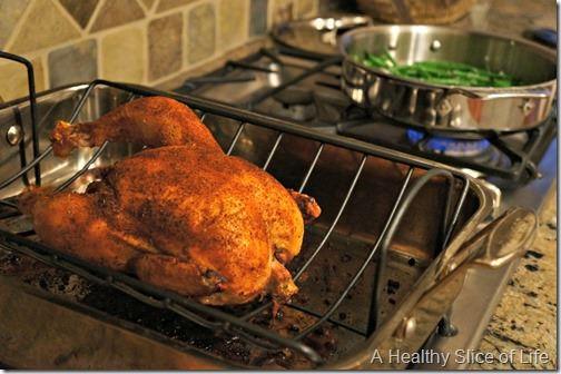 food rut redemption- roasted chicken dinner