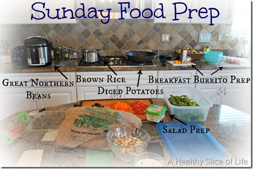 food rut redemption- sunday food prep scene