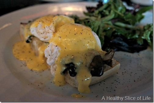 nolen's kitchen- eggs florentine benedict