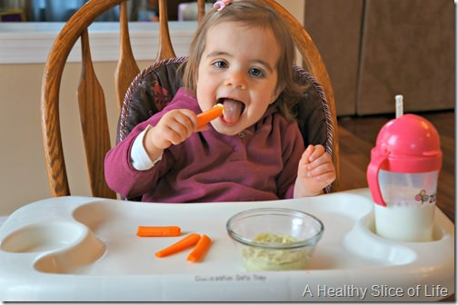 toddler dips- white bean dip- happy snacker