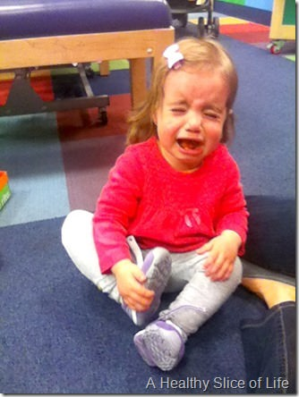 wiaw- hailey hates new shoes