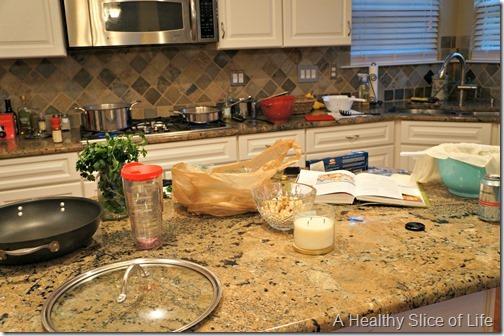 wiaw- messy kitchen