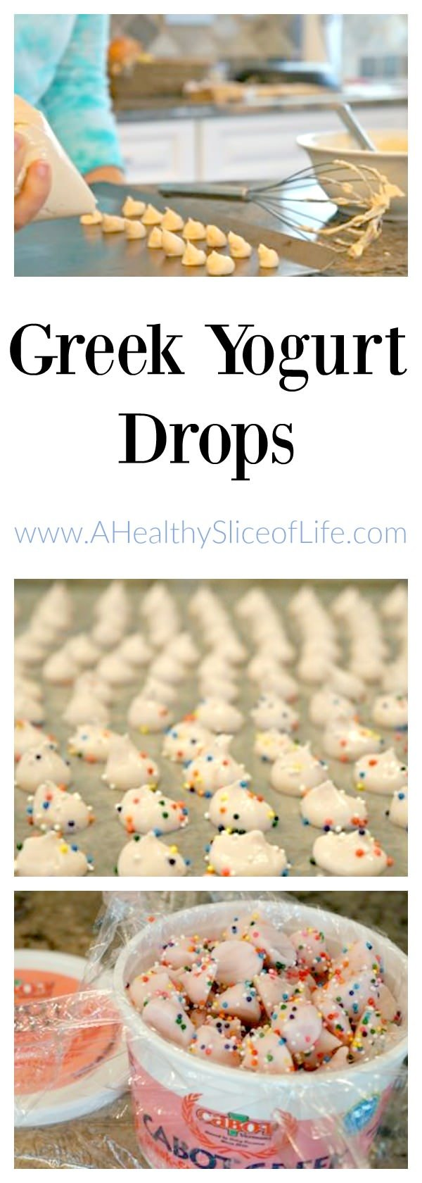DIY Greek Yogurt Drops for Kids