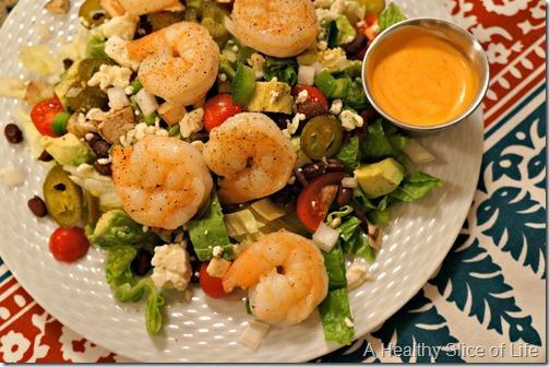 Spicy Southwestern Shrimp Salad