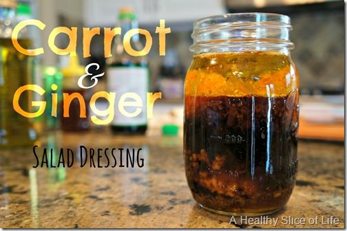 carrot ginger dressing- title