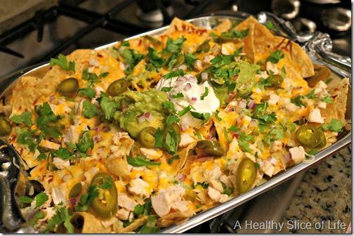 homemade loaded nachos