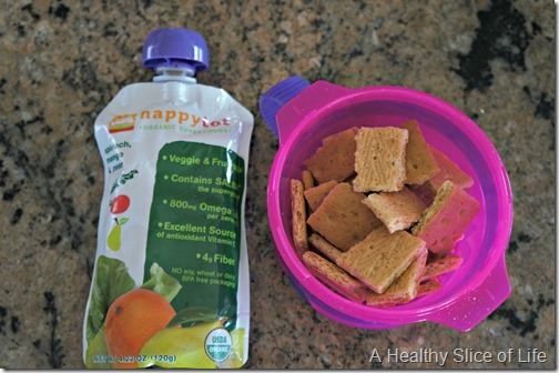 munchkin meals- 18 months old- snack
