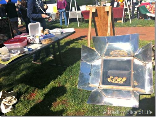 weekend- davidson farmers market solar oven