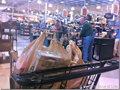 weekend- solo grocery shopping