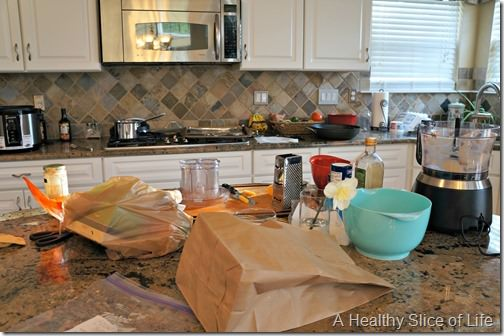 weekly meal planning- kitchen disaster