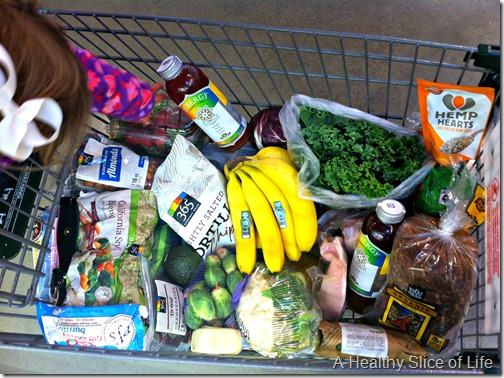 whole foods shopping- cart