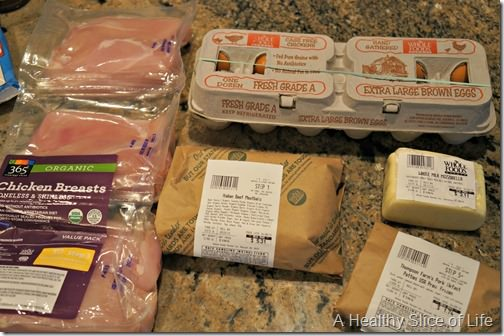 whole foods shopping- meat n cheese