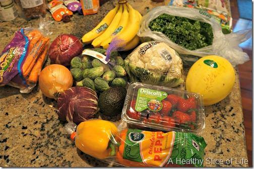 whole foods shopping- produce